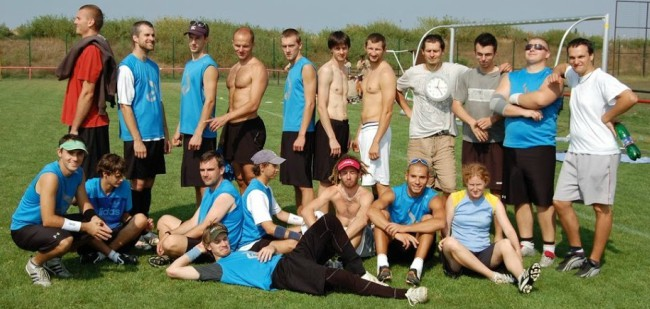 When we qualified for the World Ultimate Club Championship in Prague 2010